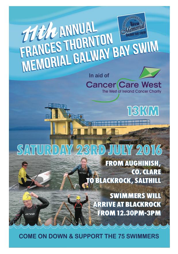 Galway Bay Swim Poster 2016